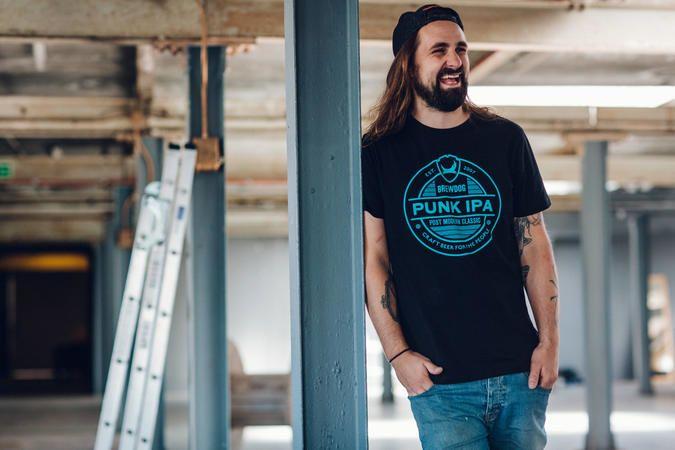 Mens Punk IPA Lockup T-Shirt