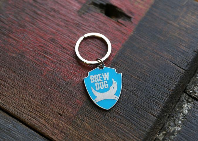 BrewDog Logo Keyring