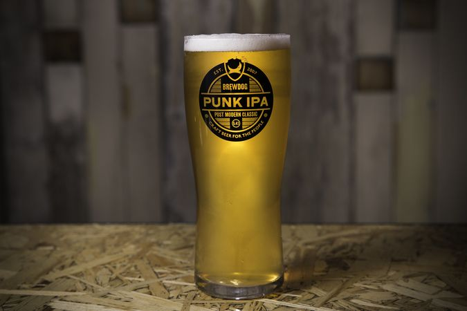Punk IPA Pint Glass