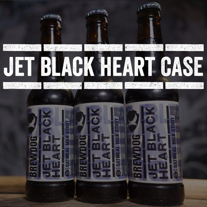 Jet Black Heart Case