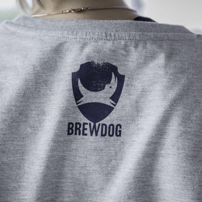 Grey BrewDog Tee