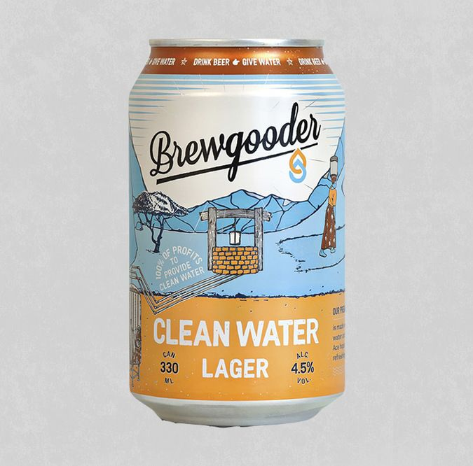Brewgooder - Clean Water Lager