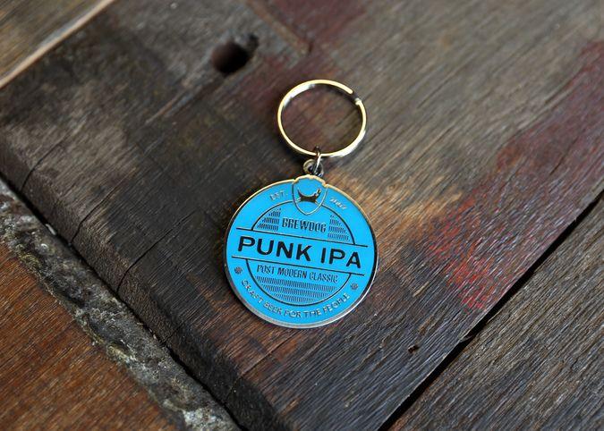 Punk IPA Keyring