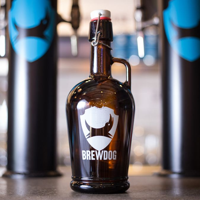 1L Glass Growler