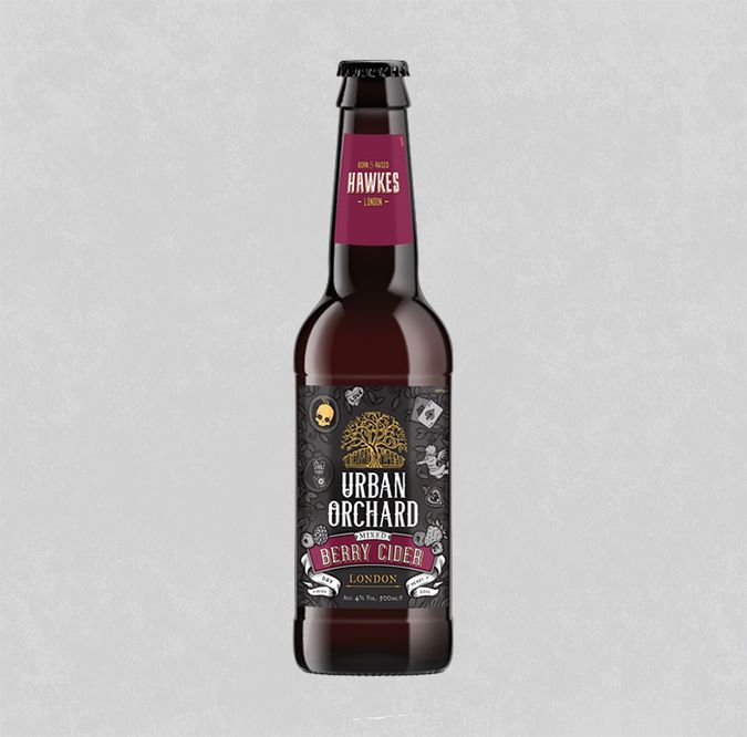 Hawkes - Urban Orchard Mixed Berry Cider