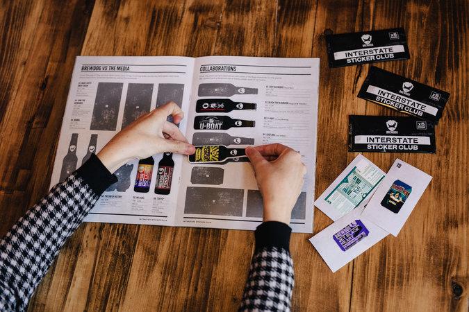 Interstate Sticker Club - Sticker Pack