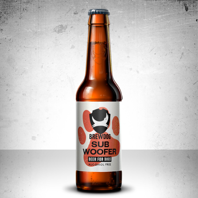 Subwoofer IPA - Craft Beer for Dogs