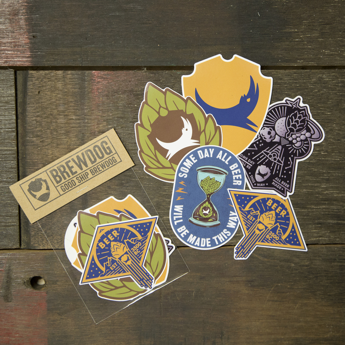 Hop Graphic Sticker Pack (5 Pack)