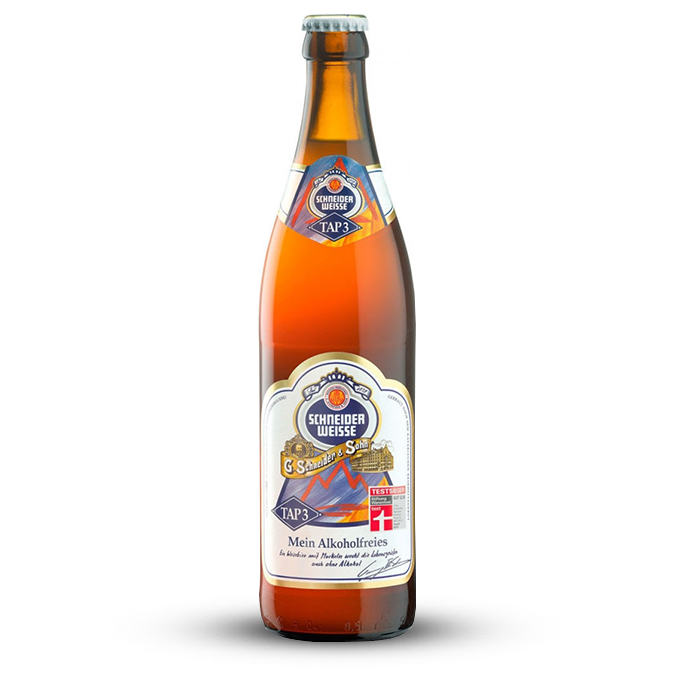 Schneider Weisse- Tap 3 Mein Alkoholfrei (Alcohol Free)
