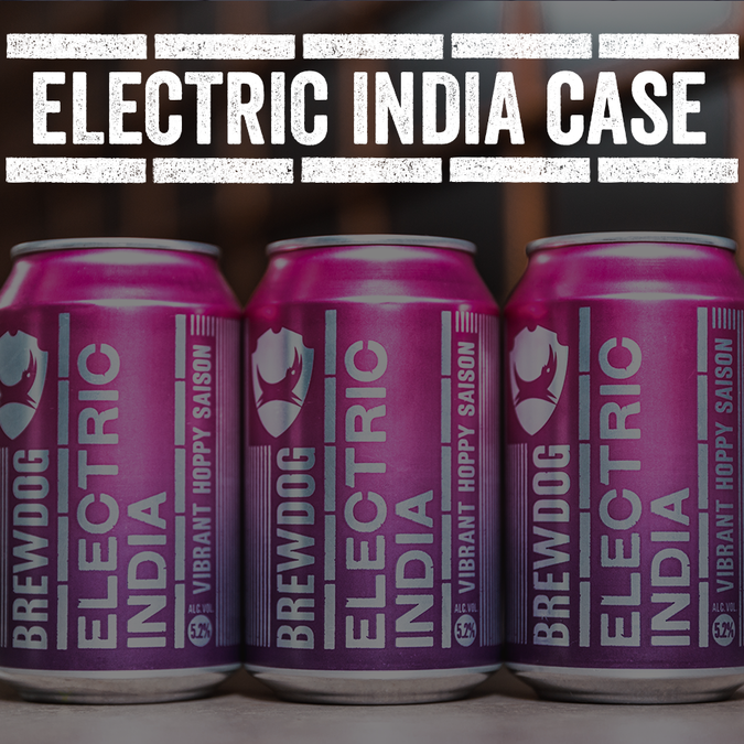 Electric India Case (free UK delivery)