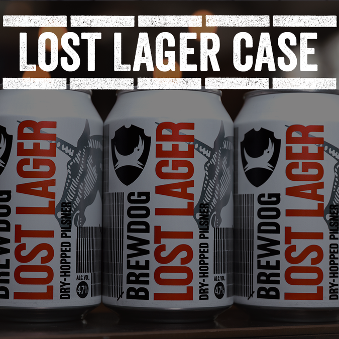 Lost Lager Can Case (free UK delivery)