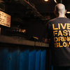 More views of Live Fast Charcoal Tee