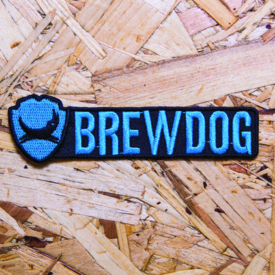 BrewDog Logo Embroidered Patch