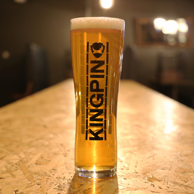 Kingpin Pint Glass