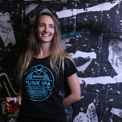 Womens Punk IPA Lockup T-Shirt