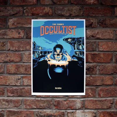 Semi-Skimmed Occultist Limited Edition Art Print