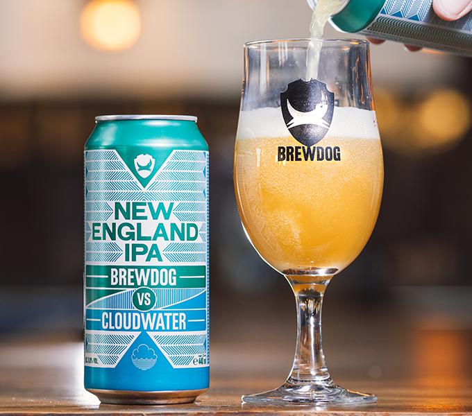 BrewDog VS Cloudwater - New England IPA 12 x Can