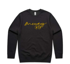 Brewdog Charcoal & Yellow Sweater