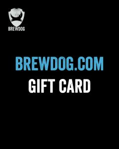 BrewDog Online Shop Gift Card