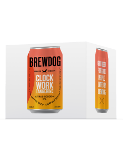 Clockwork Tangerine 4 x Can