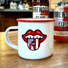 Elvis Juice Enamel Mug