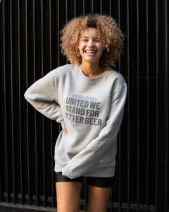 Better Beer Grey Sweatshirt
