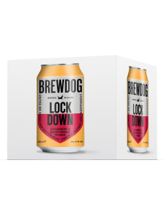 Lock Down Lager - Strawberry and Blood Orange