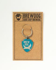 BrewDog Shield Keyring