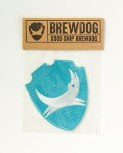 BrewDog Shield Embroidered Patch