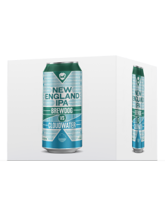 BrewDog VS Cloudwater - New England IPA 4canettes