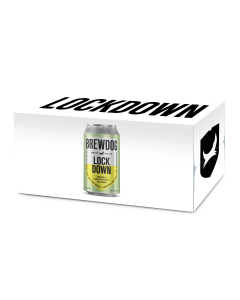 Lock Down Lager 12 x Can
