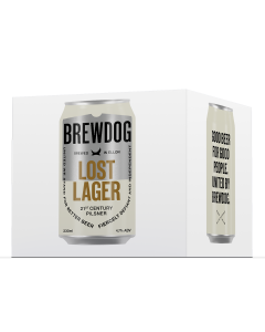 Lost Lager 4 x Can