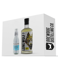 LoneWolf Cloudy Lemon Gin and Fever-Tree Tonic