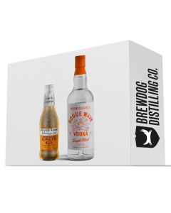 Rogue Wave Vodka and Fever-Tree Spiced Orange Ginger Ale