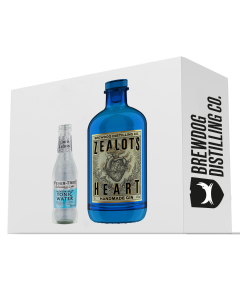 Zealot's Heart Gin and Fever-Tree Tonic