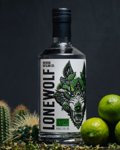 LoneWolf Cactus and Lime Gin
