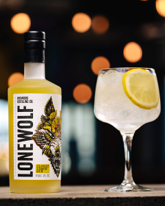 LoneWolf Cloudy Lemon Gin