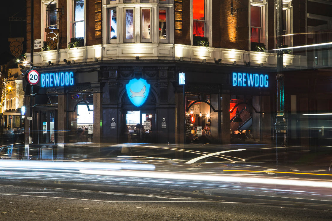 BREWDOG BARS UPDATE 2019