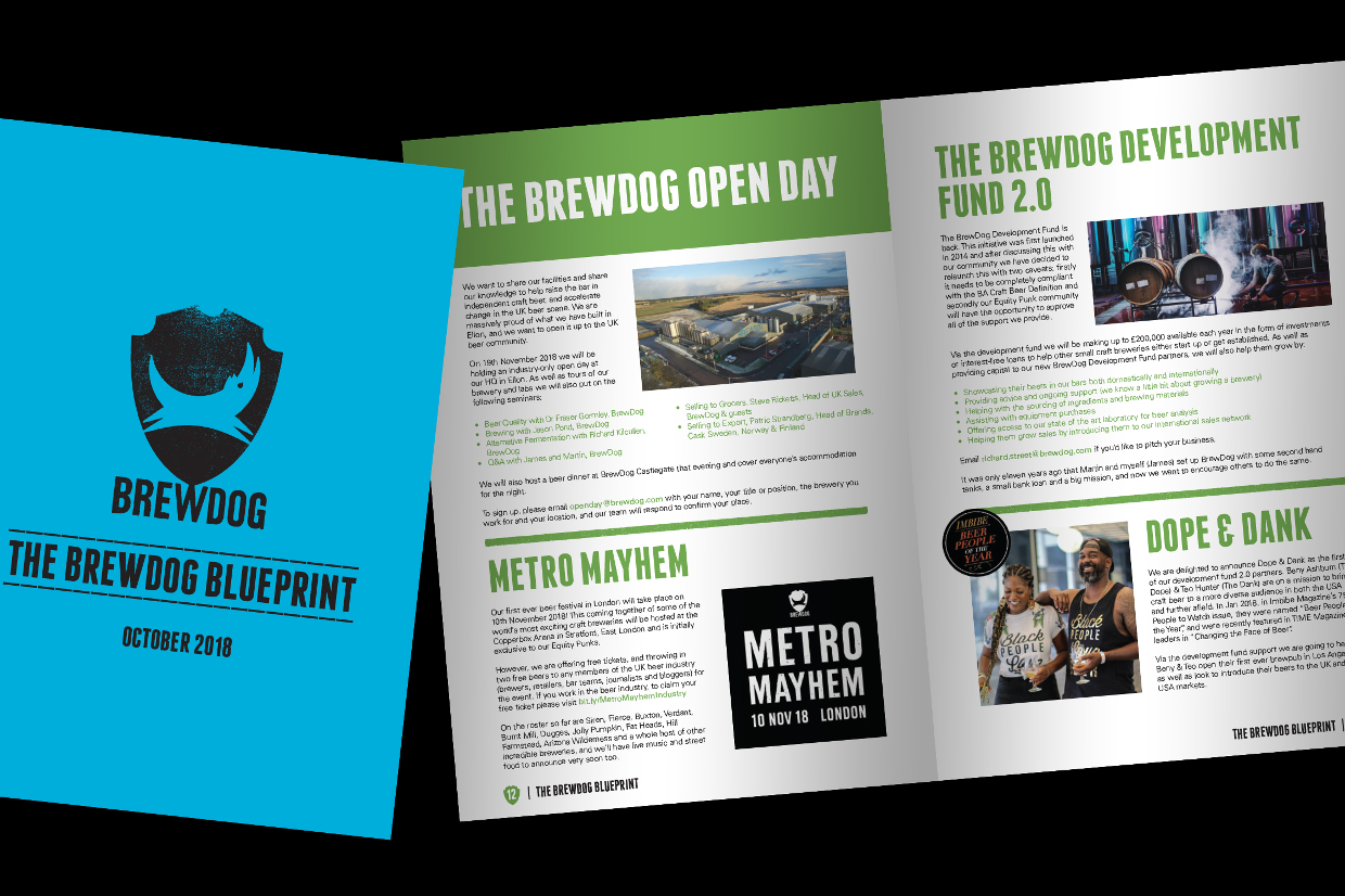THE BREWDOG BLUEPRINT