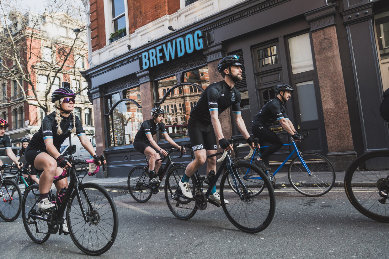 RIDE TO THE HORIZON WITH THE BREWDOG CHAIN GANG