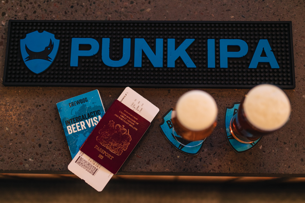 BREWDOG EDINBURGH AIRPORT HAS LANDED