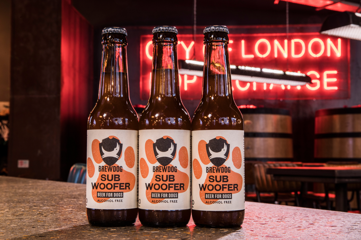 SUBWOOFER IPA: CRAFT BEER FOR DOGS